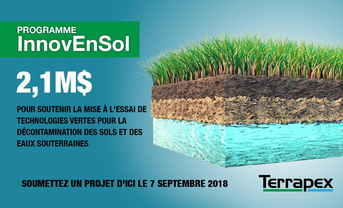 InnovEnSol Program: 2,1M to sustain the piloting of green technologies in soil & water decontamination