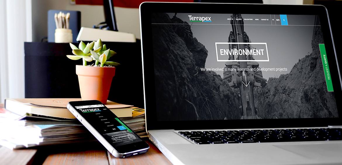 A brand new website for Terrapex